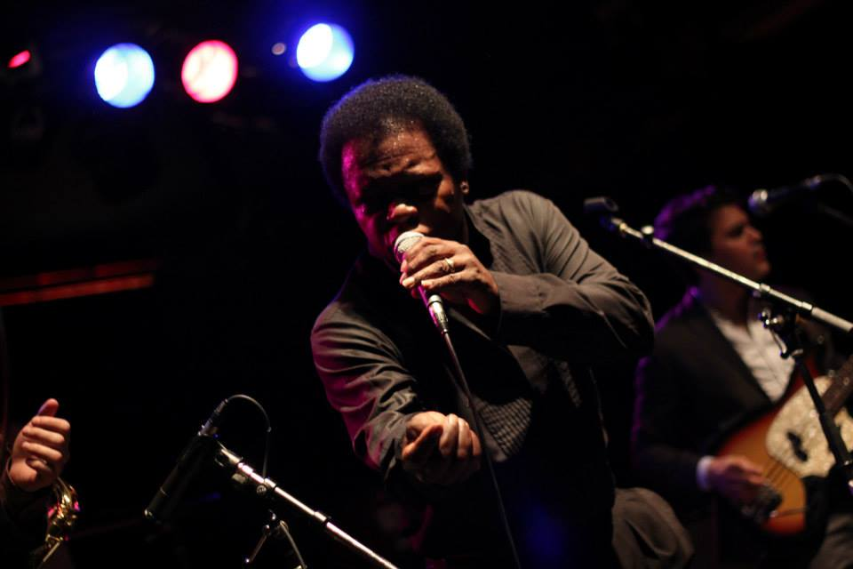 Lee Fields at Victoria Jazz Fest. Taken by  Kim Jay  with my camera.