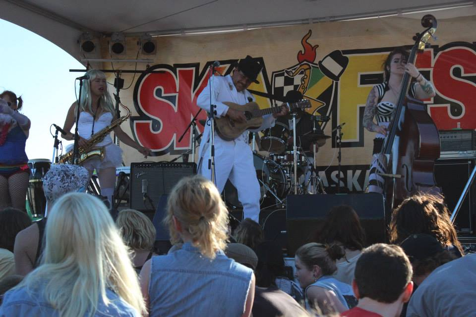 Blackberry Wood rocks another Ska Fest. Photo by me!