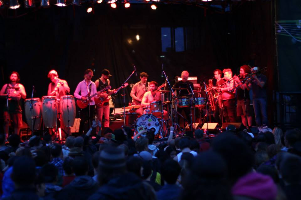 Five Alarm Funk at Victoria Jazz Fest. Powerful. (Photo by me!)