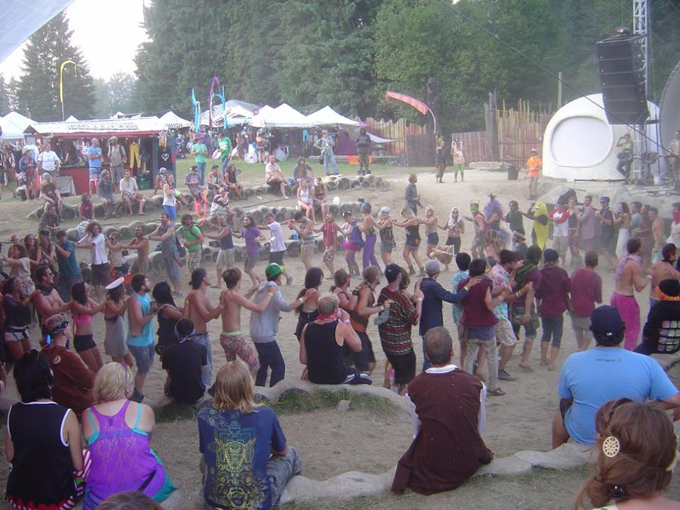 Remember that time there was a conga line during Rocky Mountain Rebel Music?