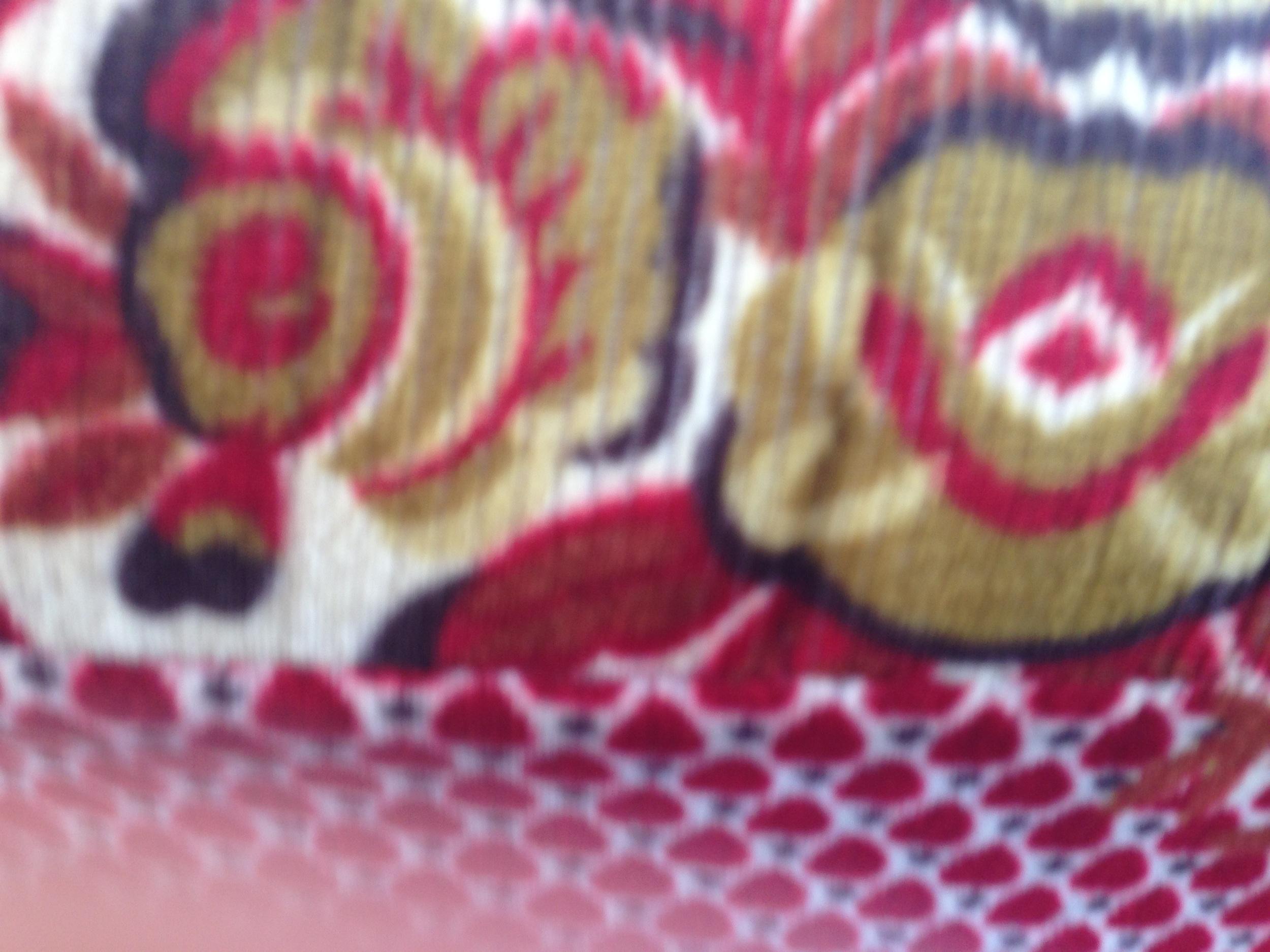 Upholstery in a tuk-tuk