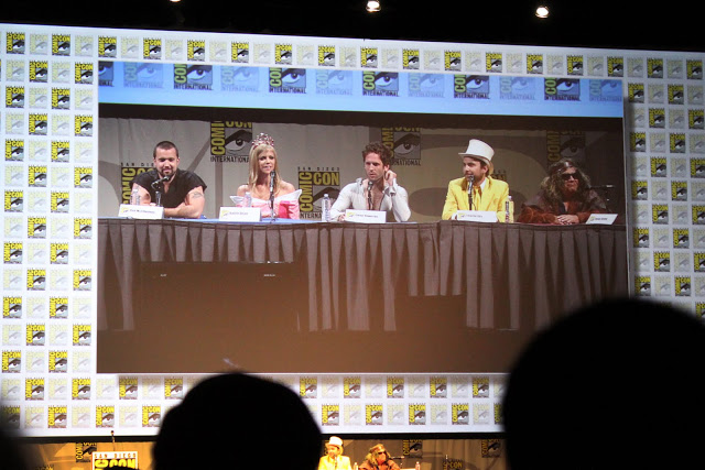 Panel/Q&A with the Always Sunny... cast.