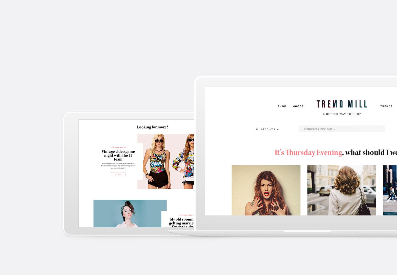 Trendmill   BRANDING & WEBSITE