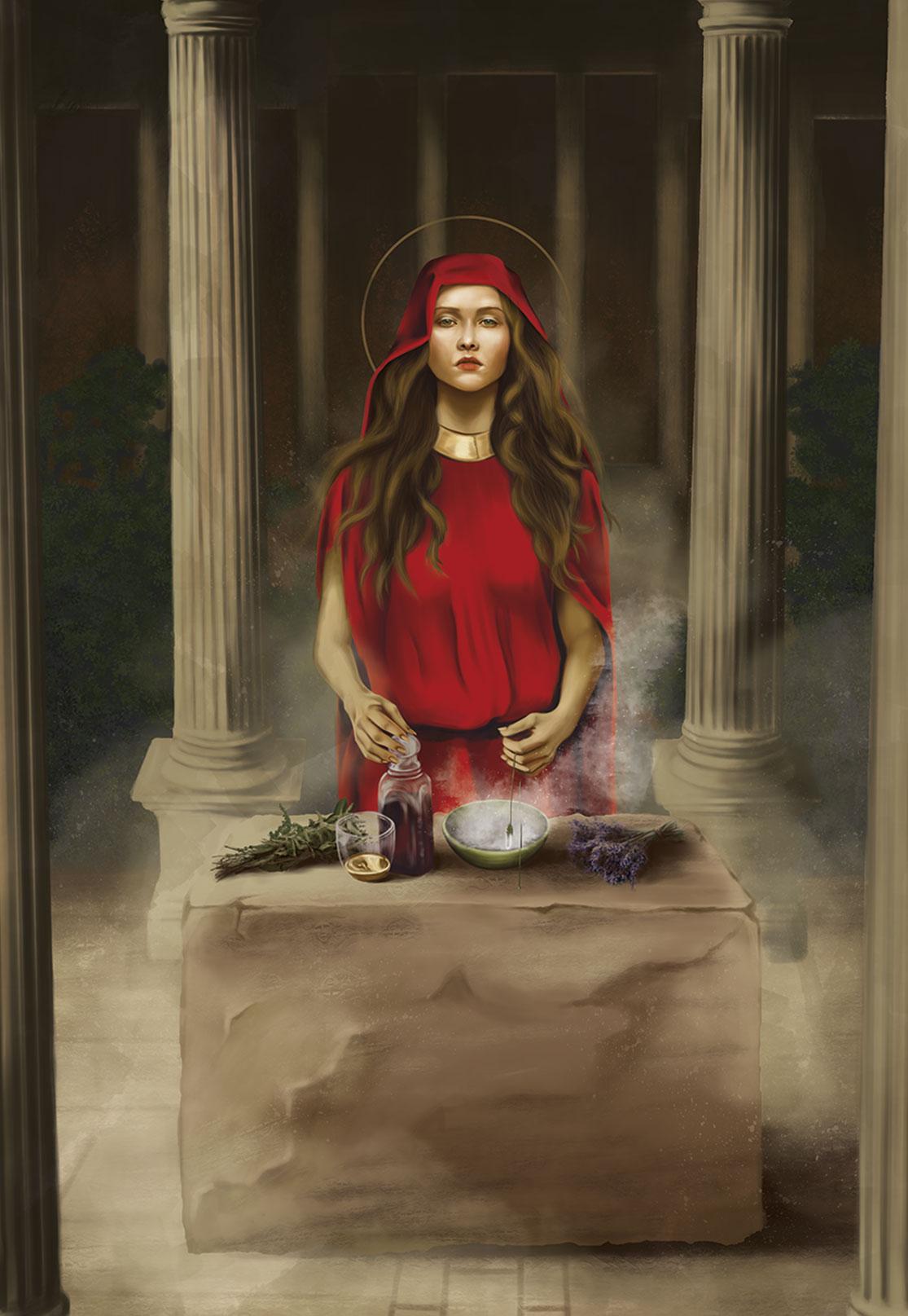 A modern take on Mary Magdalene