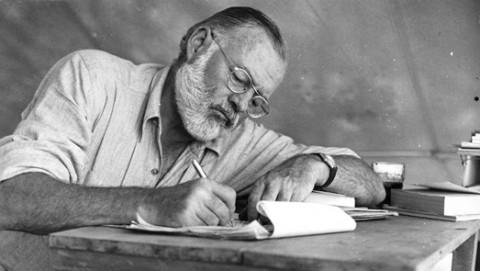 Hemingway at work.jpeg