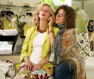"Barbara Streisand plays a hands-on sexual healer in ""Meet the Fockers"""