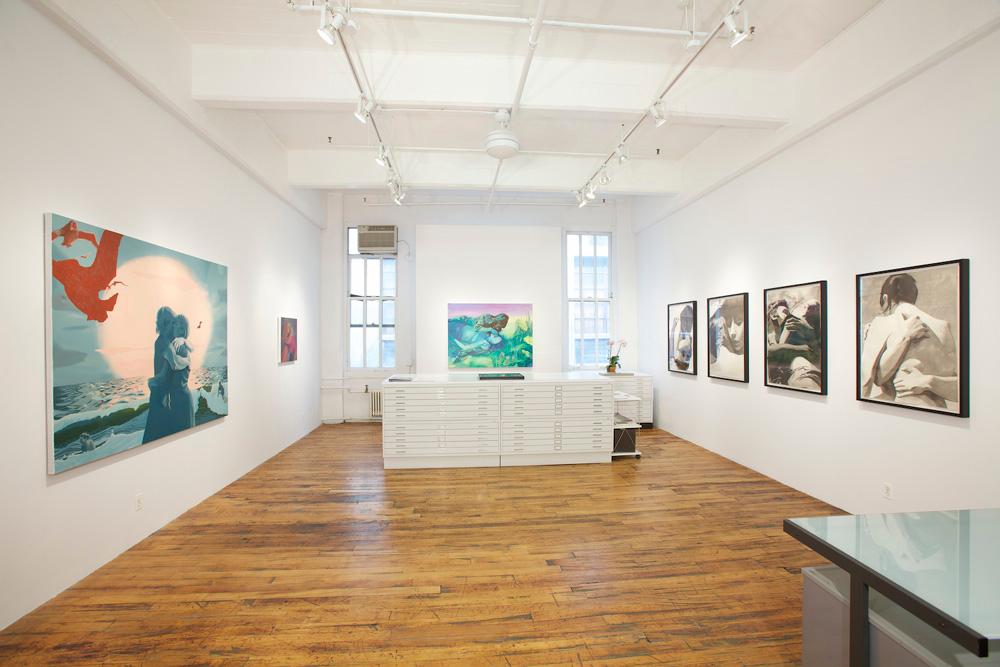 Jen P. Harris: American Kiss   Daniel Cooney Fine Art, New York, NY Summer, 2011