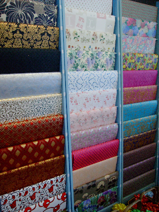 Sheetwrap designs vary with the seasons.