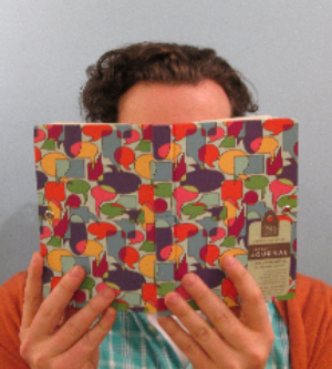 Journals of all kinds, including this reversible one from Iota, for righties or lefties!