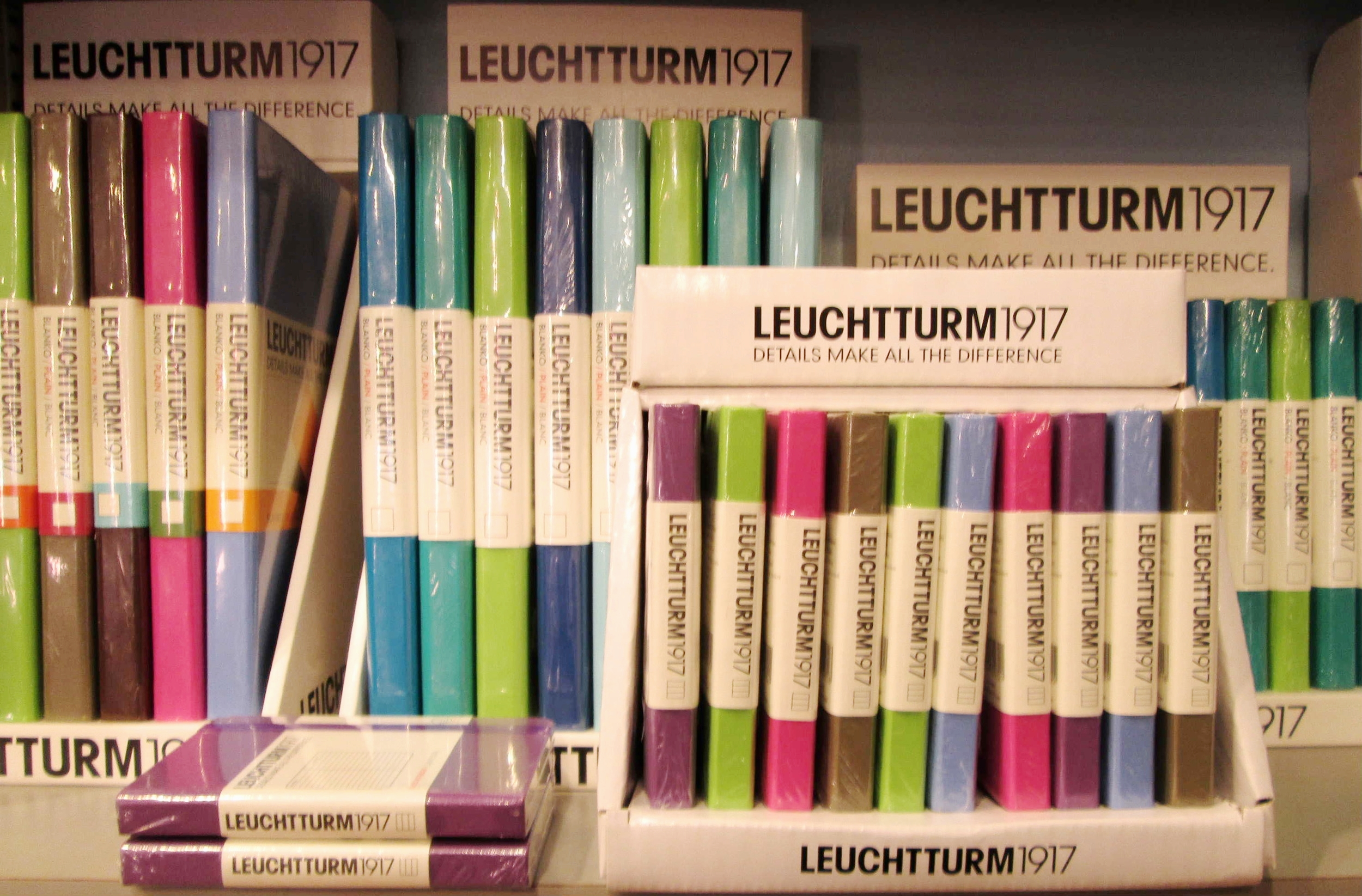 Journals from Leuchtturm, Moleskine, Peter Pauper, Gallery Leather, Paperthinks, Paperblanks and more!