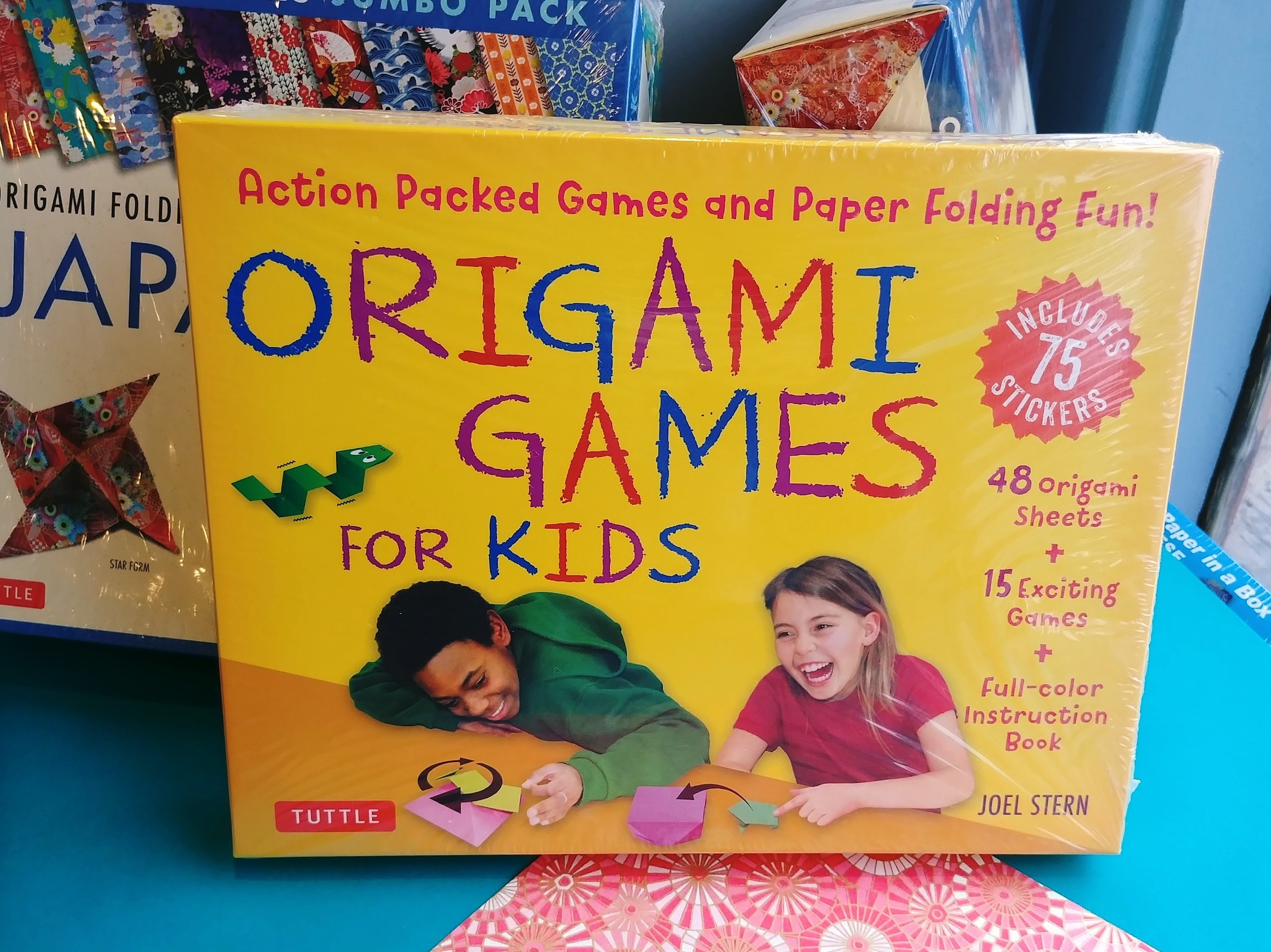 Origami activities for the kids will ensure everyone enjoys March Break. The Origami Games for Kids set contains 48 origami sheets and 75 stickers to create 15 games. A full-colour instruction book is included.  March 9, 2019
