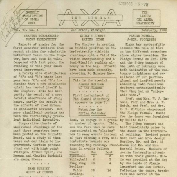 February 1936