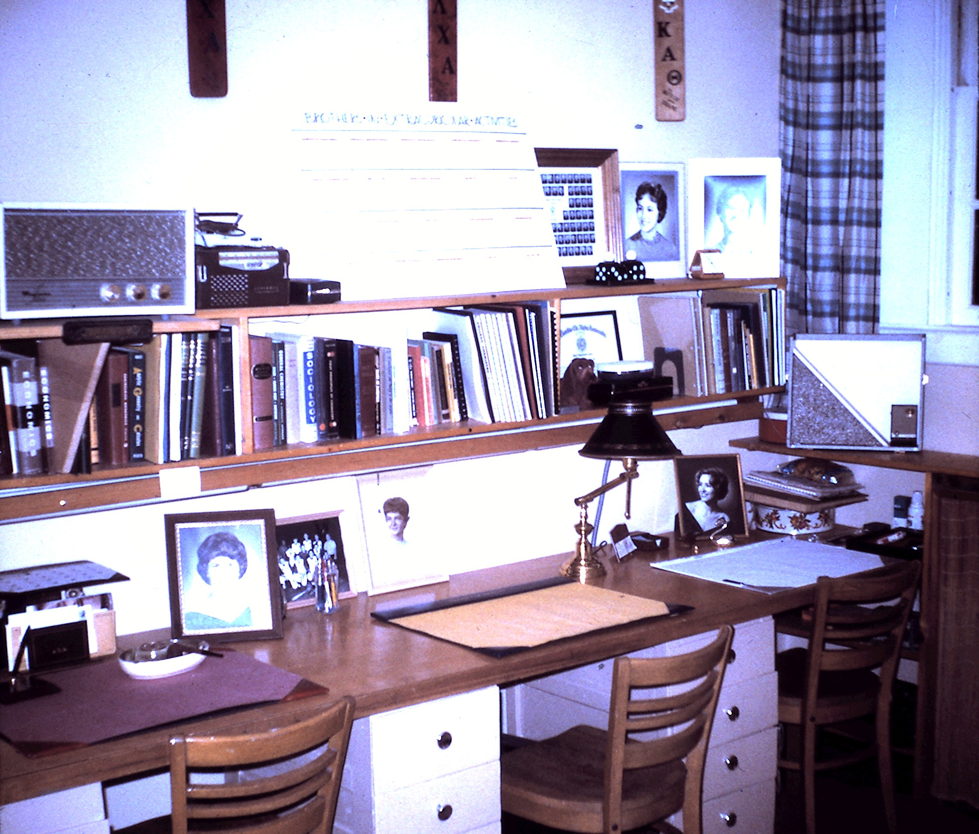 A room in the chapter house at 1601 Washenaw, 1963