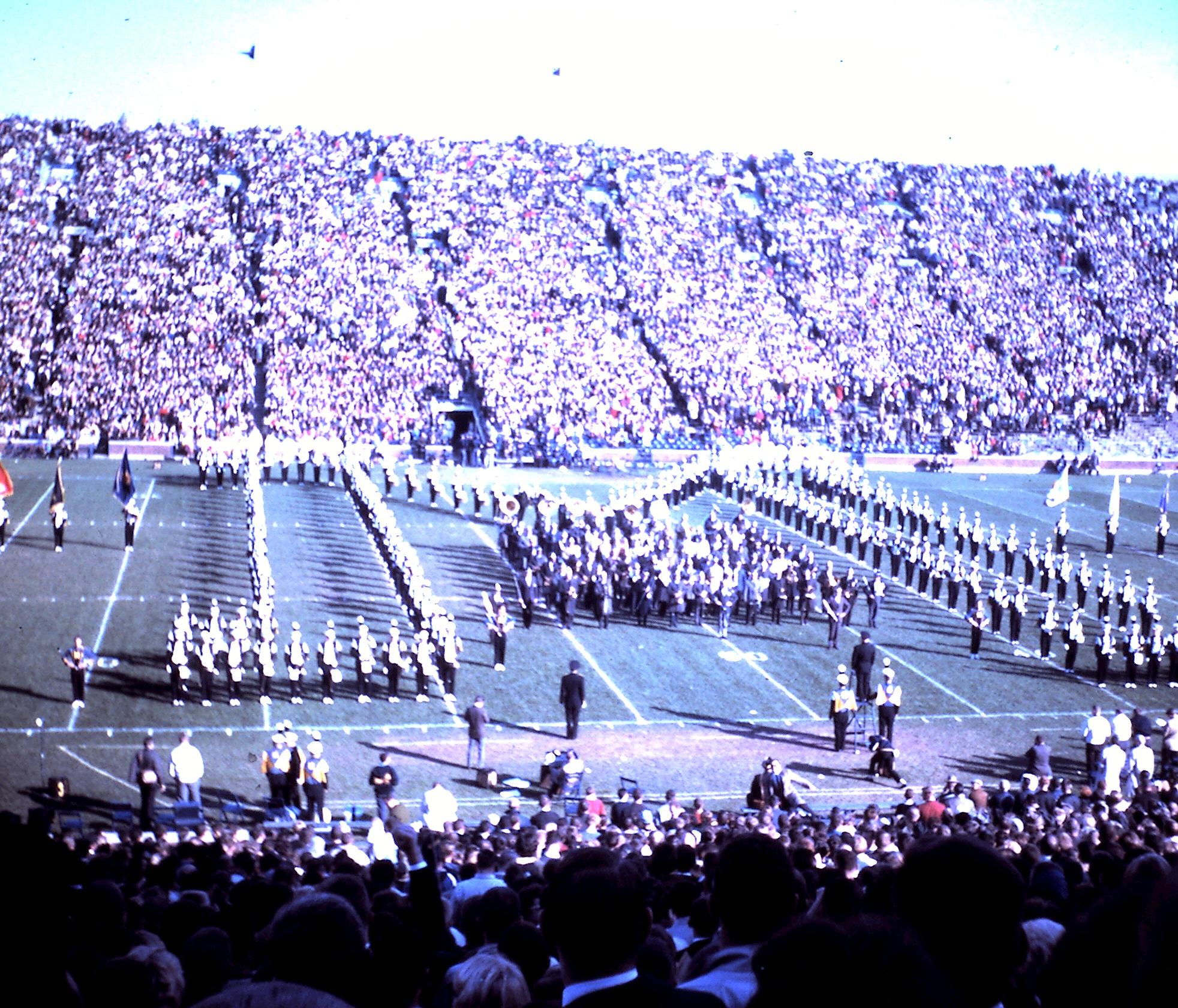 At the Homecoming football game, 1964