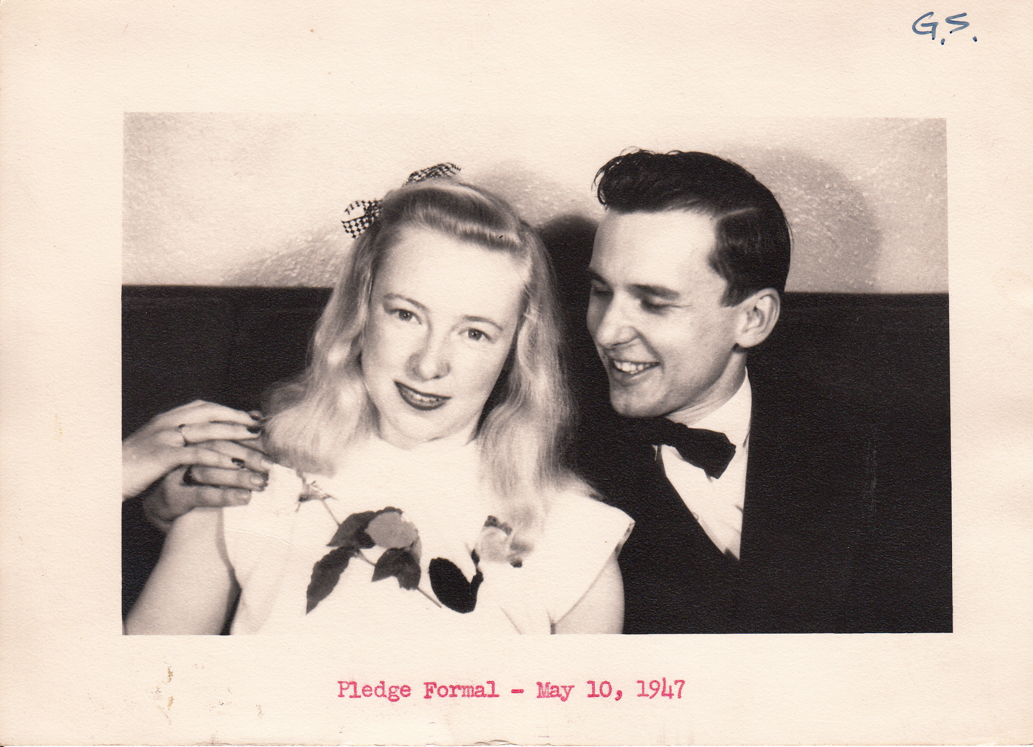 Pledge Formal, 1947