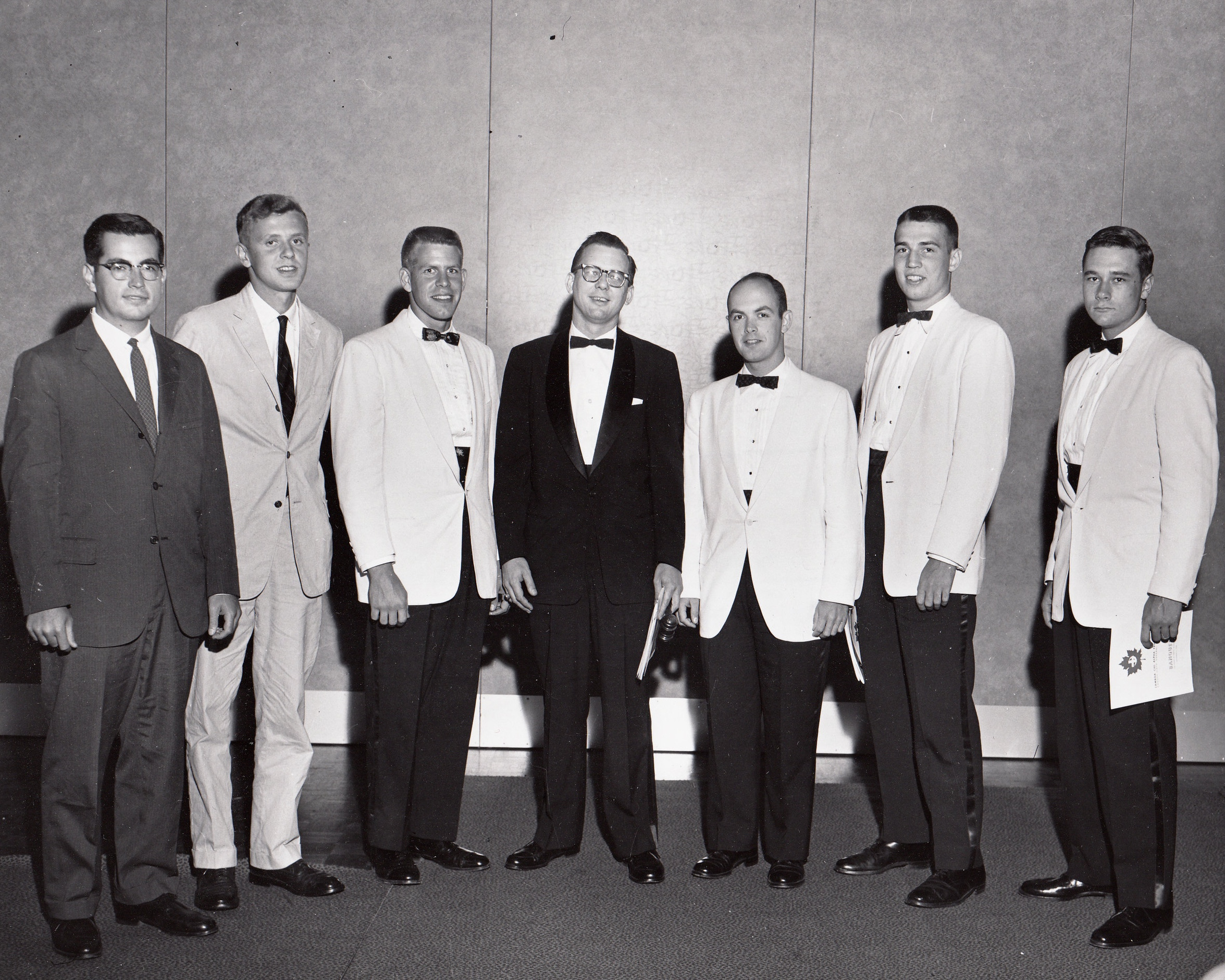 With Sigma's delegates at the 26th General Assembly in Montréal, 1958