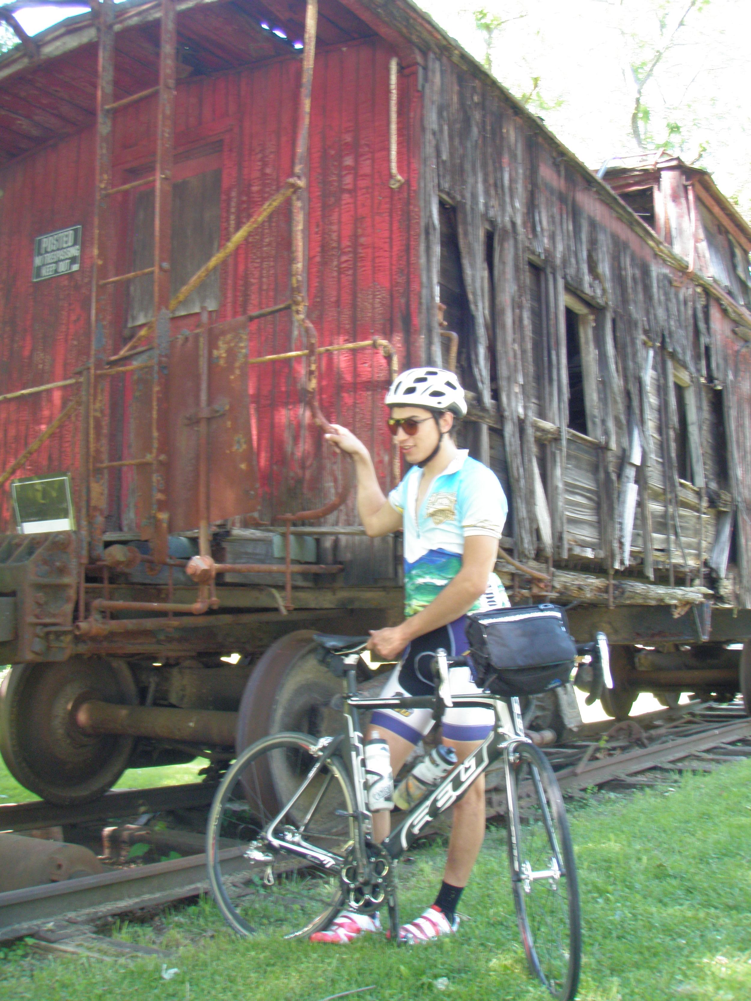 Found an old train car