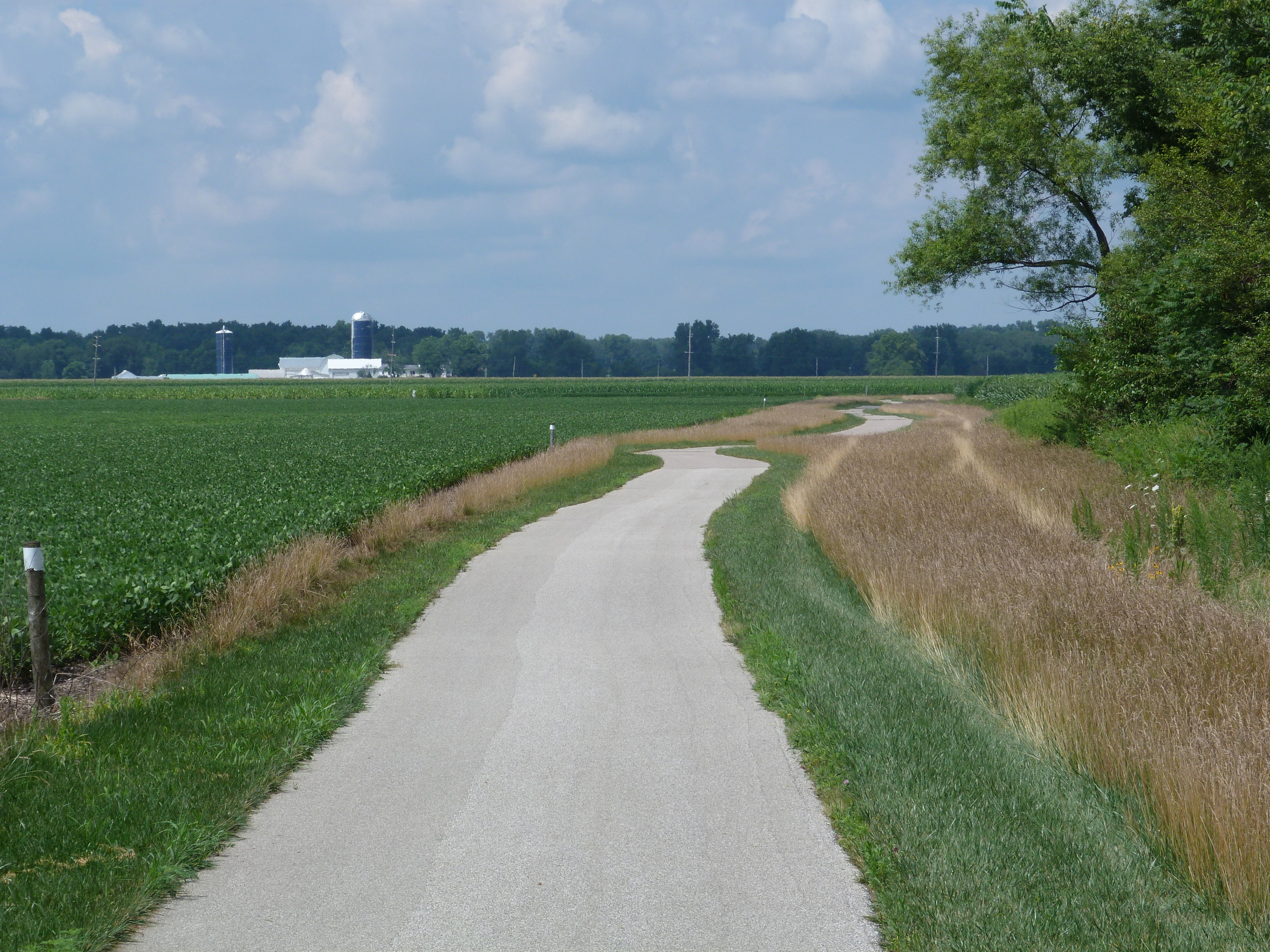 Indiana countryside.