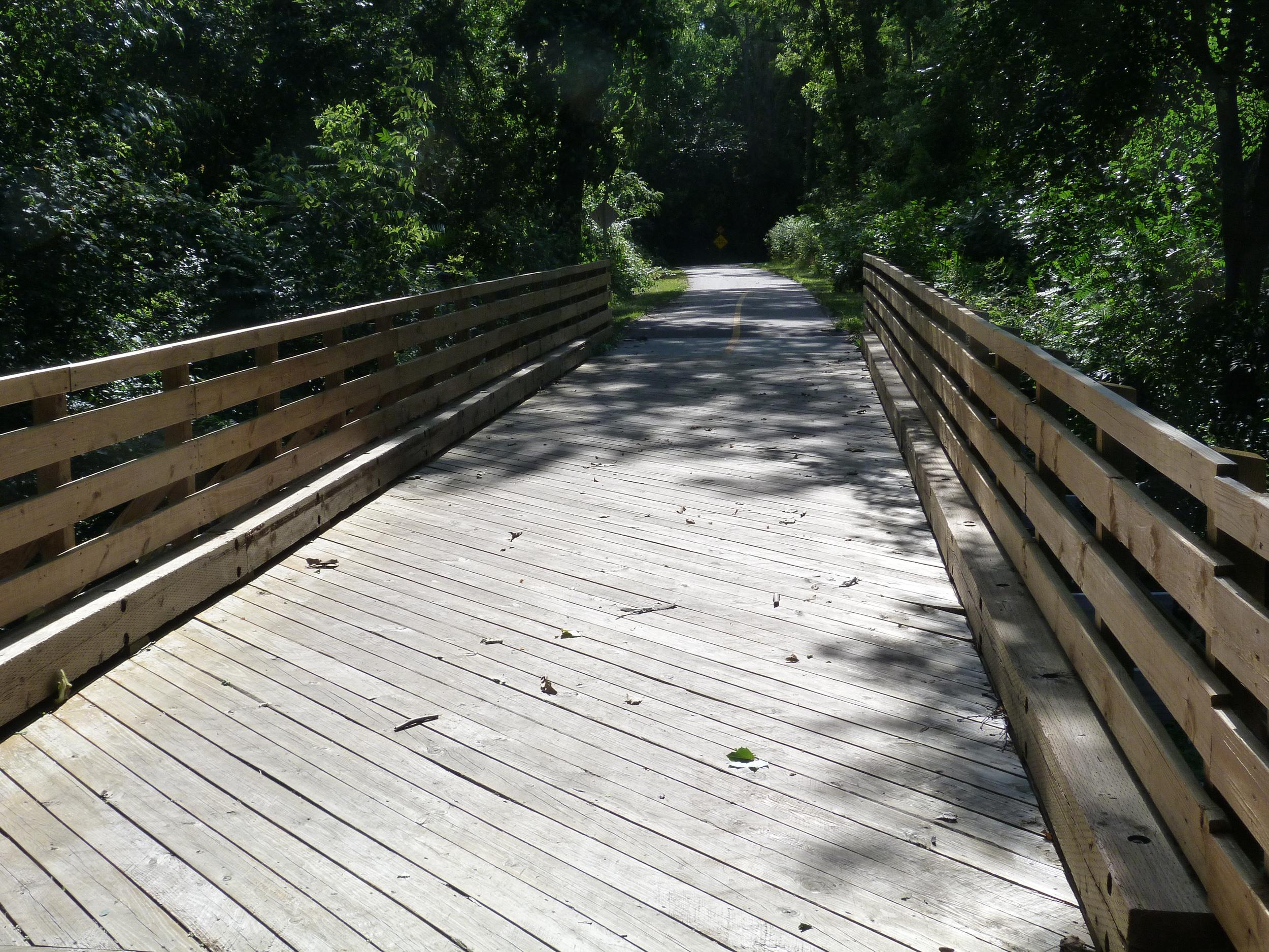 Bridge near Middlebury, IN.