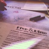 Five & Dine - a nice restaurant in the newly renovated downtown Rock Hill area