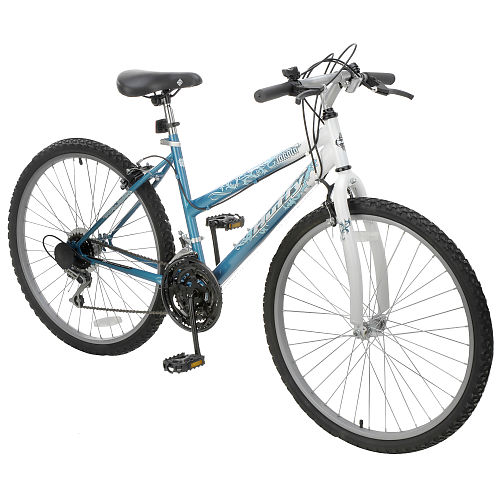 Here is an example of a new bicycle from a department store with the fork mounted backwards!