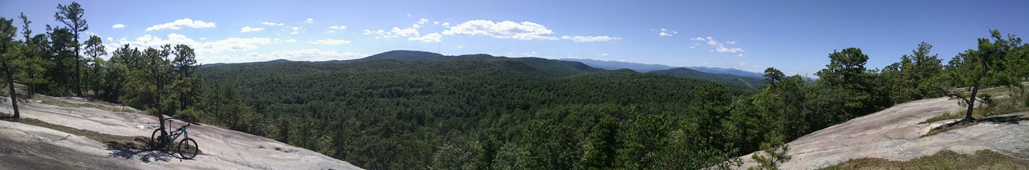 Overlook from one of the many Peaks in DuPont State Park