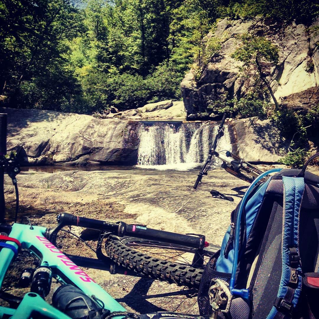 Lunch Spot in Wilson's Creek