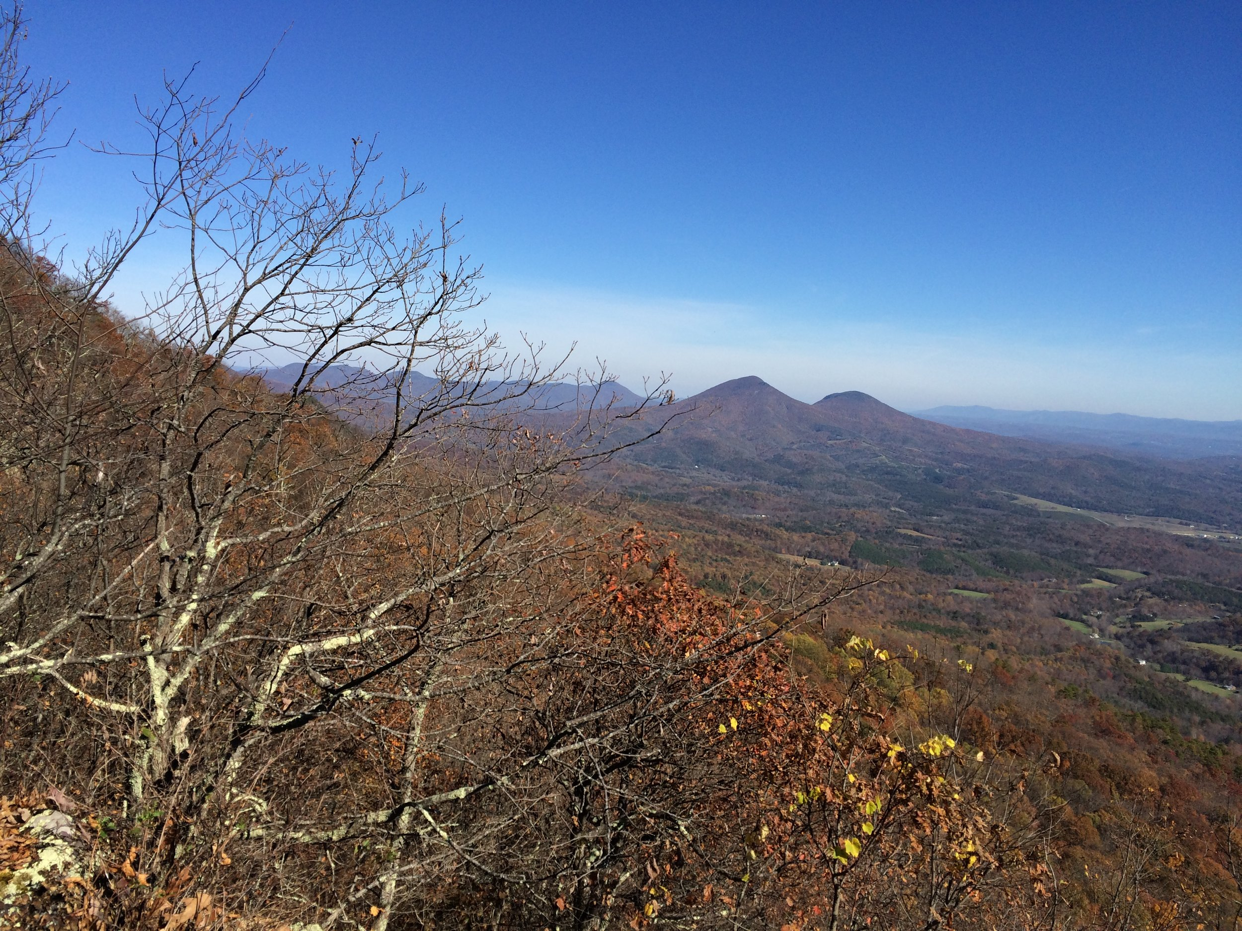 One of many great views from the ridge top.