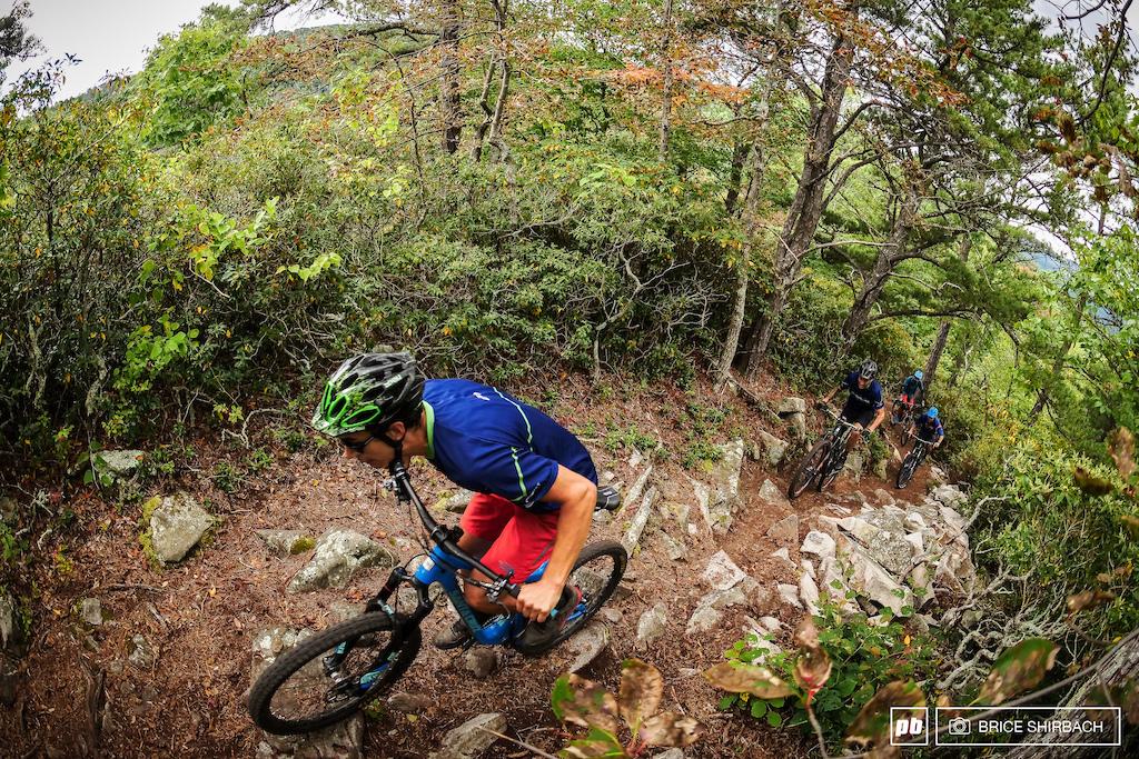 Pink Bike Shot of Erik Climbing.jpg