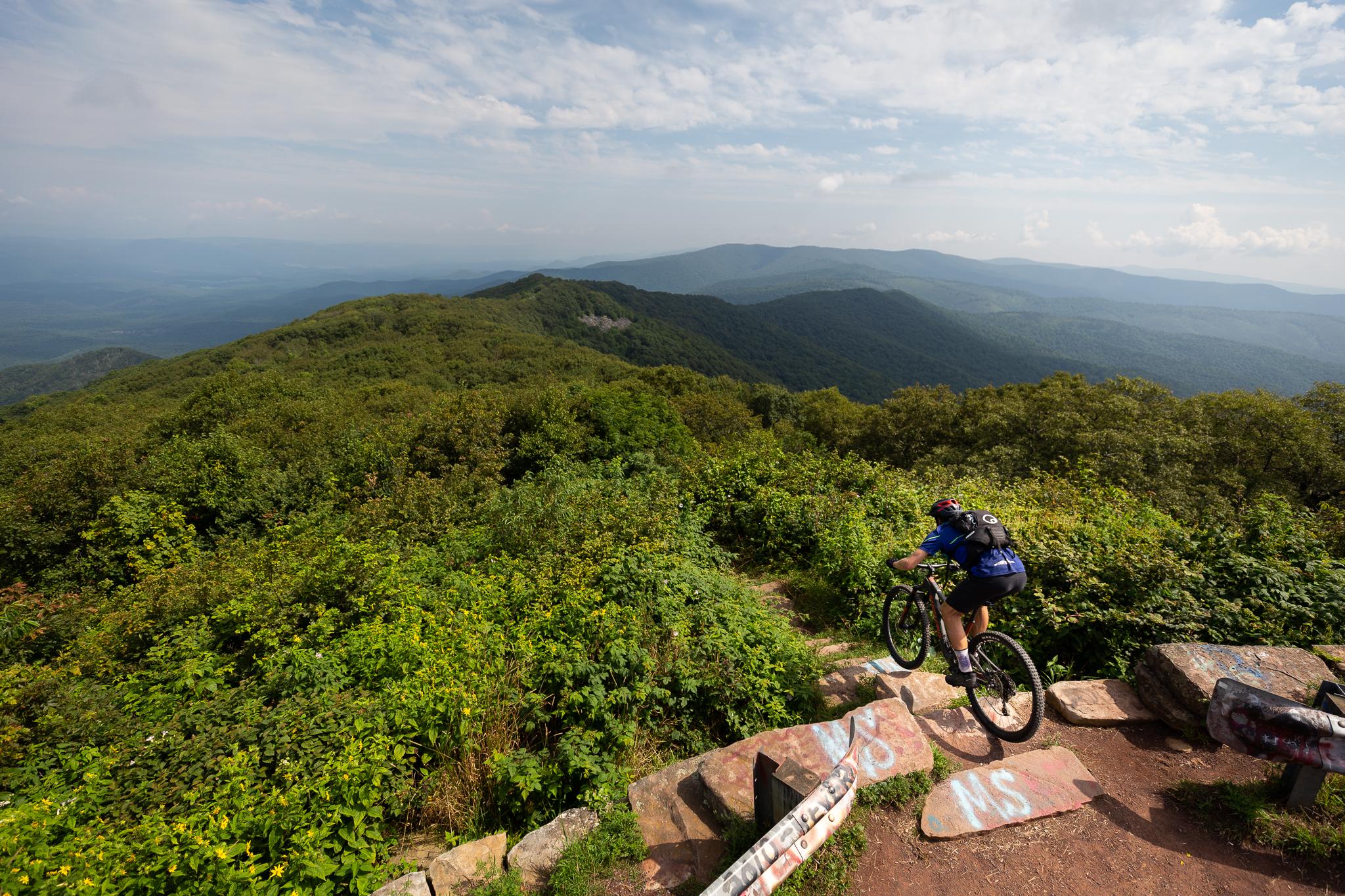 Mountain Bike Tour on Reddish Knob