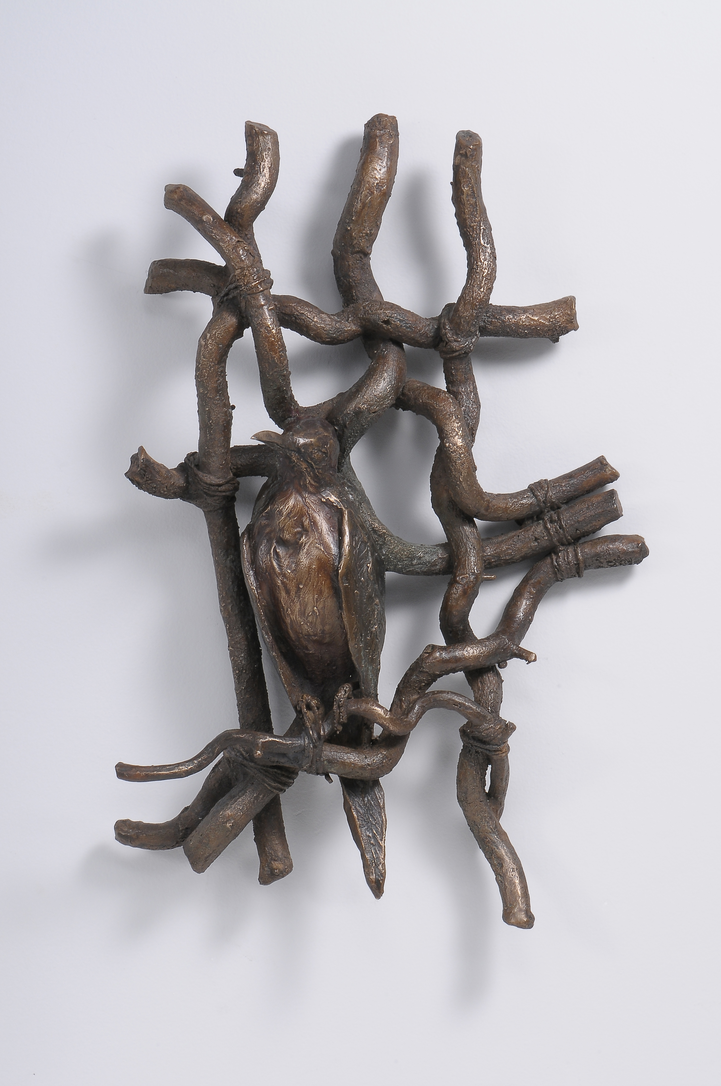 """Potomska Road  , Ellen Lewis Watson.  15"""" x 10"""", bronze."""