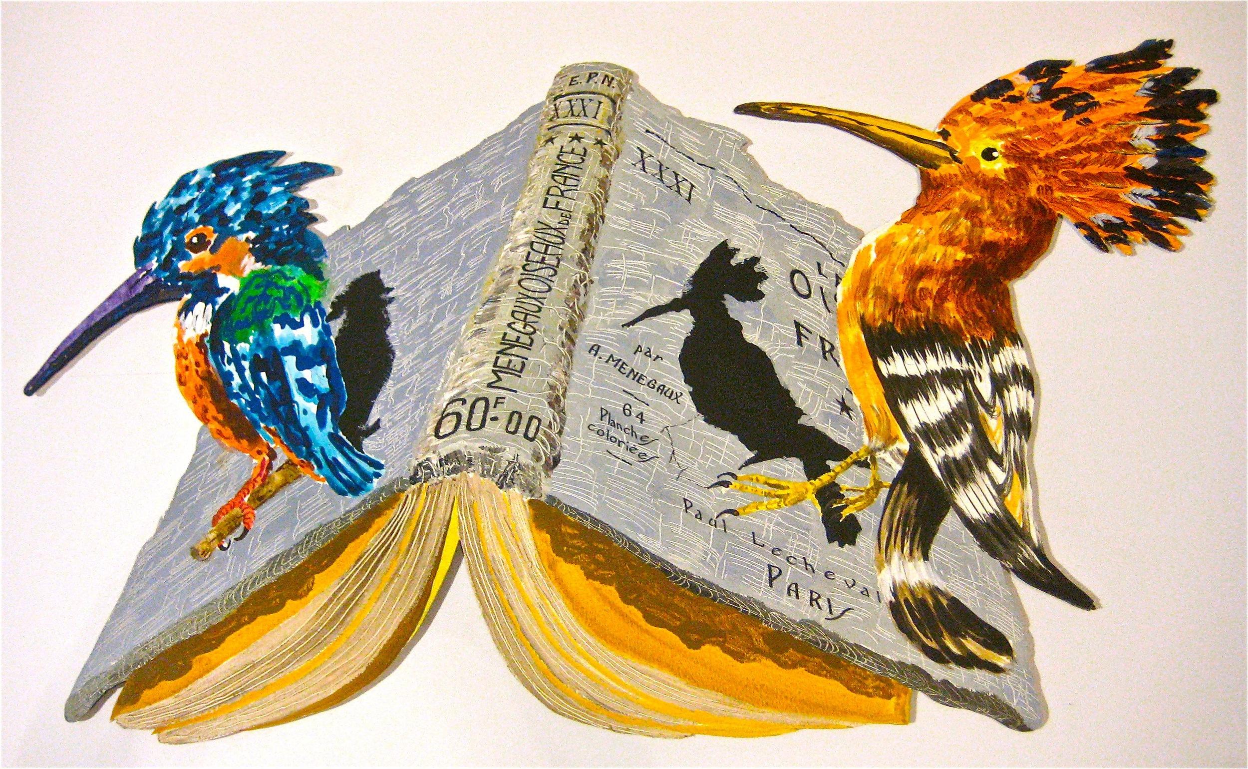 "Unbound  . Roger Kizik, 2012.   55"" x 89"", acrylic on panel"
