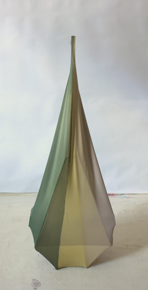 "Cello  , Maria Walker.2011  56 x 21.5 x 10.25"",Acrylic, canvas, wood."