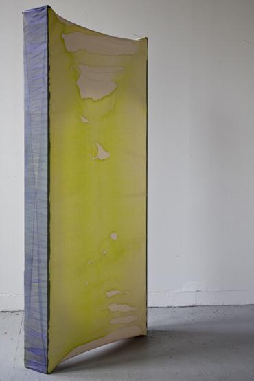 "Untitled,   Maria Walker.  61.25"" x 28"" x 5.75″,Acrylic, canvas, wood"