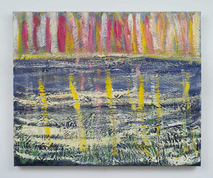 "Seascraper,   Charles Miller, 2011.  20"" x 24"",oil on canvas."