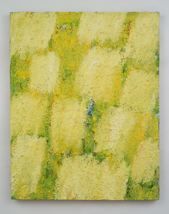 "Untitled,   Charles Miller, 2012.  38"" x 30"", oil on linen."