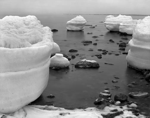 Ice Encased Rocks 1, Horseneck, 1979.jpg