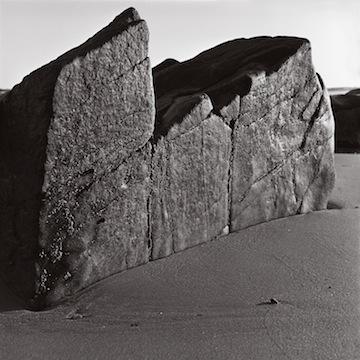 Rock & Sand, East Beach, 1995.jpg
