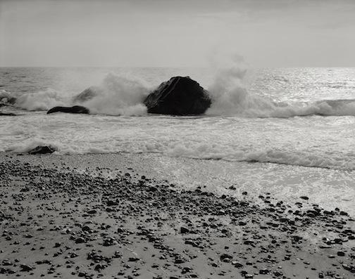 Surf on Rocks, East Beach, 1983.jpg