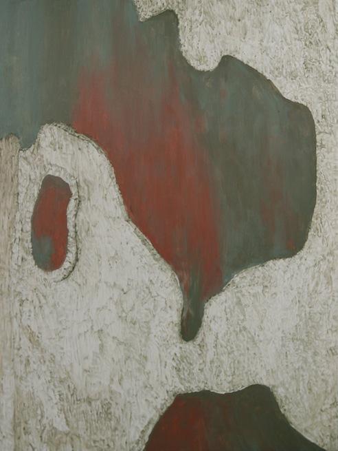 "TREE, LA, California,  Joan Backes,2011.    24"" x 18"" acrylic on panel"