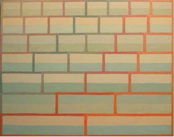 """Teotihuacan  , John Havens Thornton, 1979.  48"""" x 60"""", oil on canvas  $4200"""