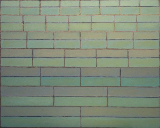 "Vera Cruz  , John Havens Thornton, 1979.  48"" x 60"", Oil on Canvas  $4200"