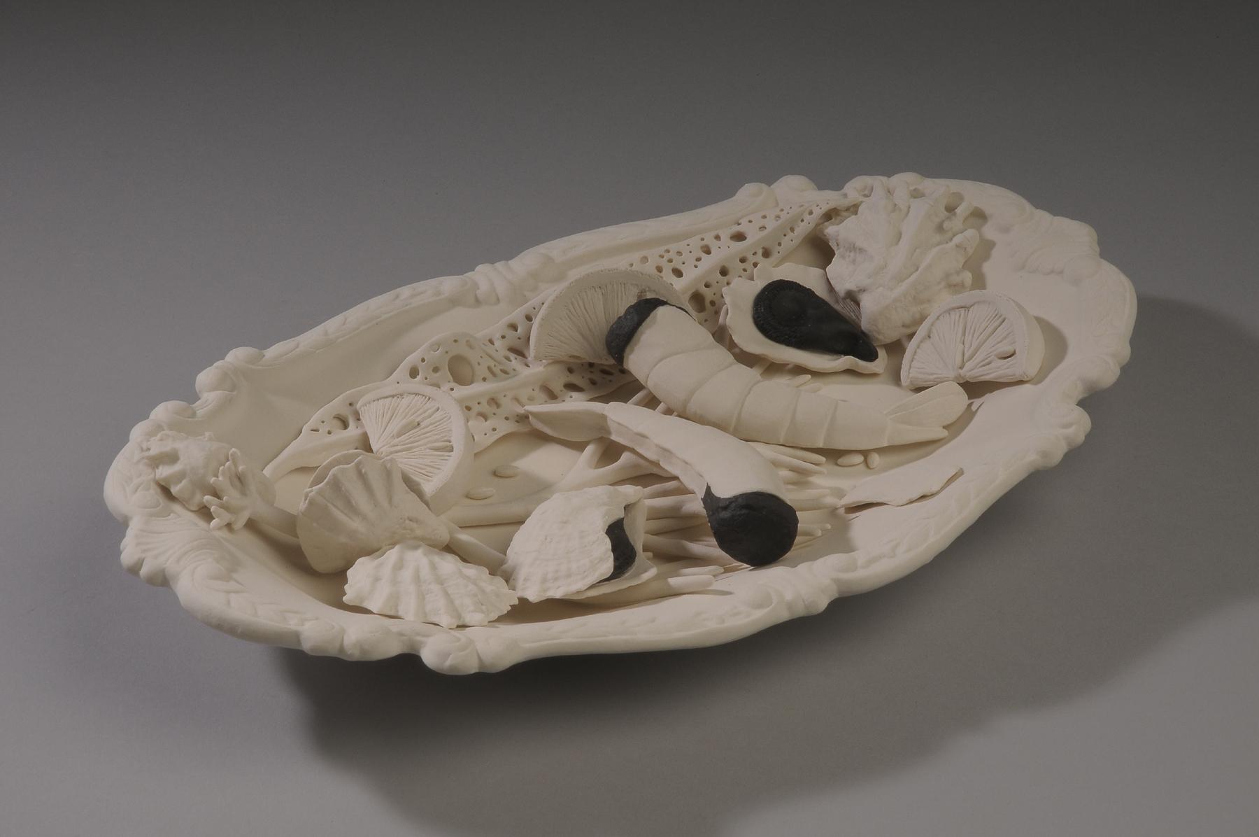 Black Tide  , Susan Schultz  Porcelain