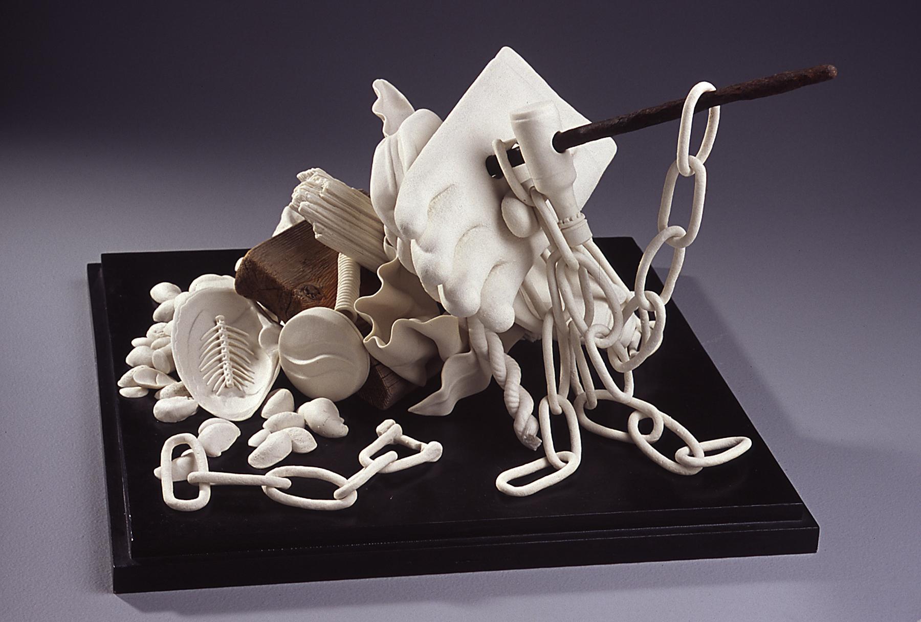 New Bedford, Massachusetts  , Susan Schultz  Porcelain, wood