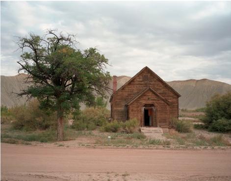 "Caineville, Utah  , Kipp Wettstein, 2009.  50"" x 60"", digital C-print"