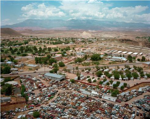"Hurricane, Utah  , Kipp Wettstein, 2009.   50"" x 60"", digital C-print"