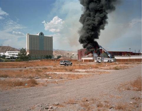 "Bullhead City, Arizona  , Kipp Wettstein, 2009.   50"" x 60"", digital C-print"
