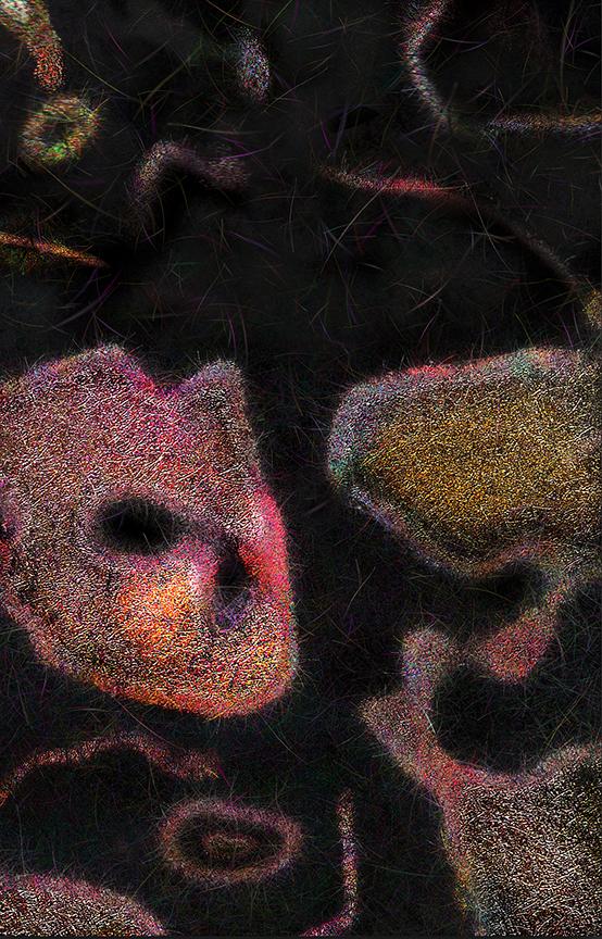 """Moss Series 12  , Harvey Goldman, 2013  26"""" x 36"""" digital print"""