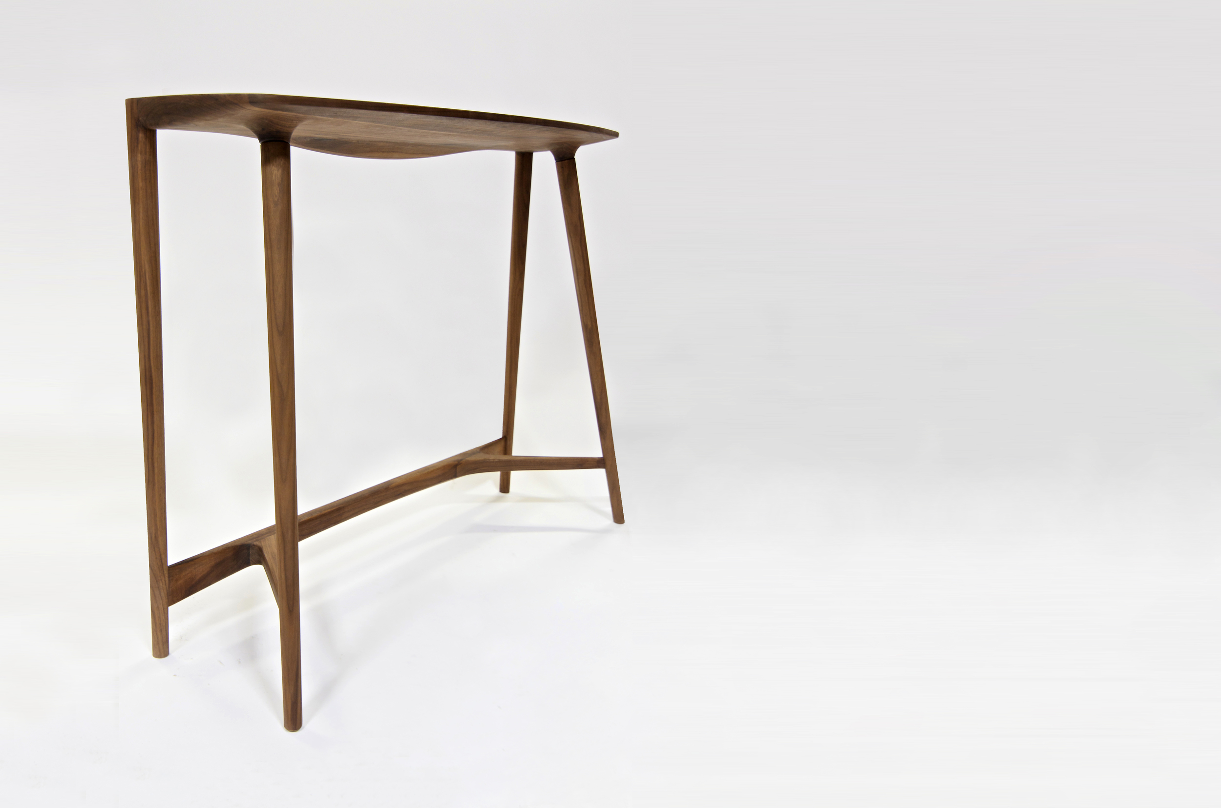 "Bristol Console   DUNN  Walnut, Cherry or Ash, 36""x46""x 14"""