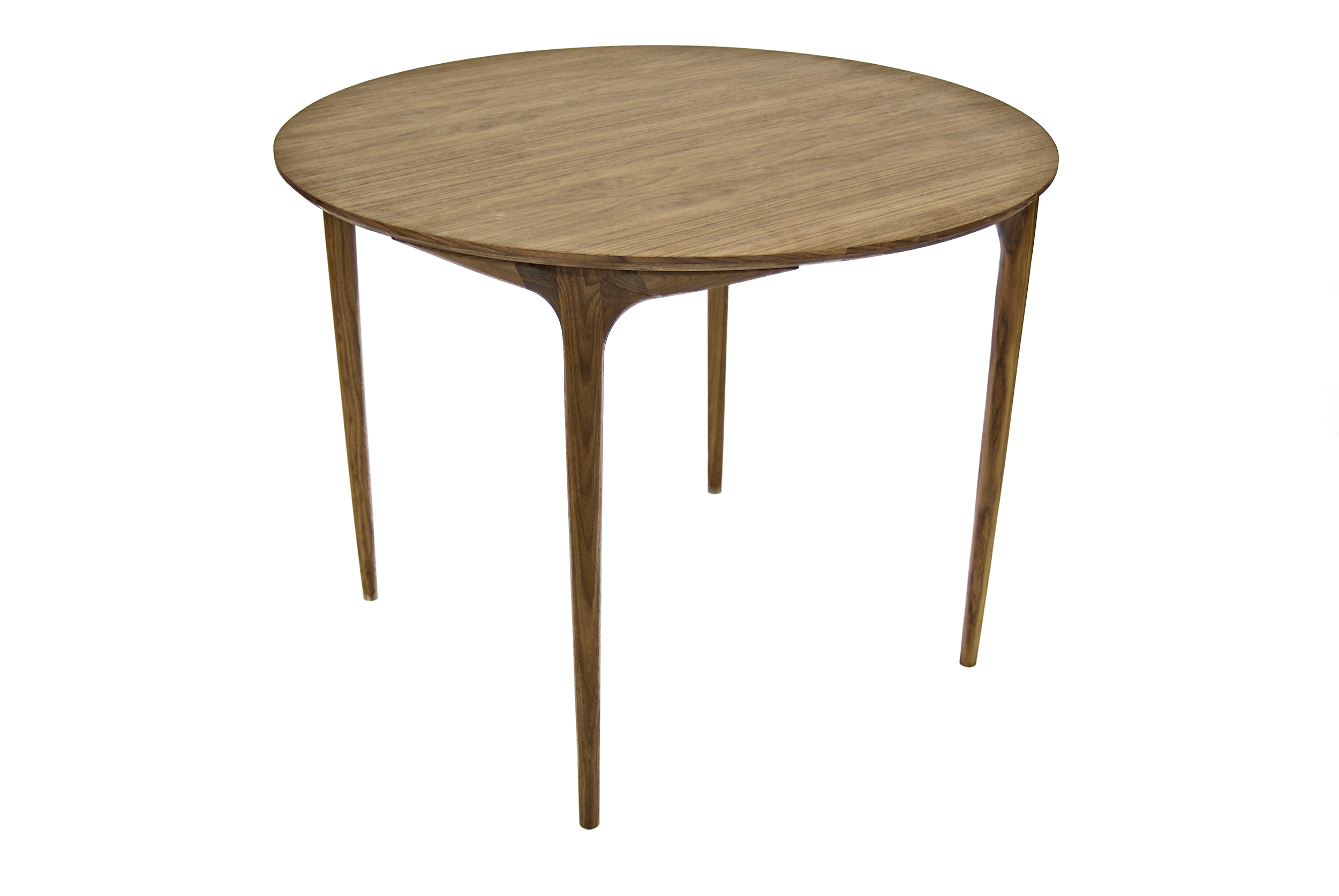 "Newport Table   DUNN  Walnut, Cherry, or Ash, 30""x39""x39"""